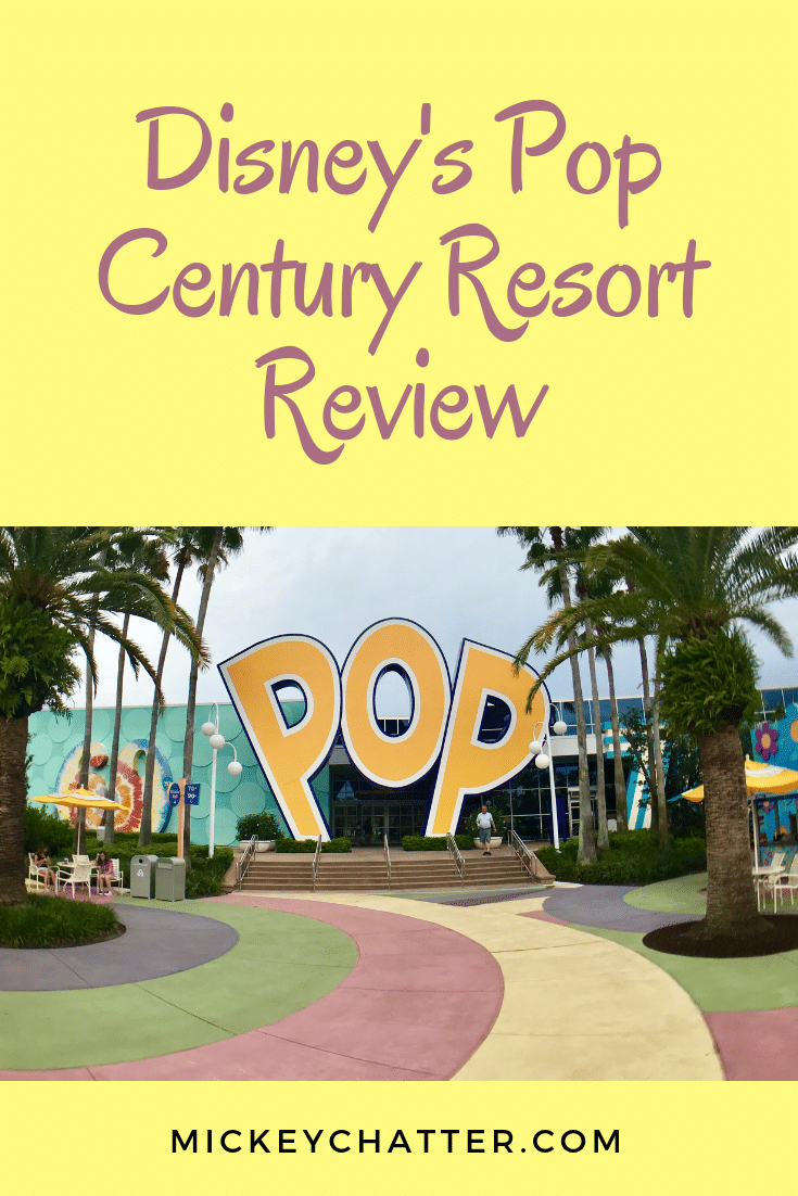 Disney's Pop Century Resort Review, a great value resort on-property! #disneyworld #disneyhotel #disneyresort #disneytrip #disneyvacation