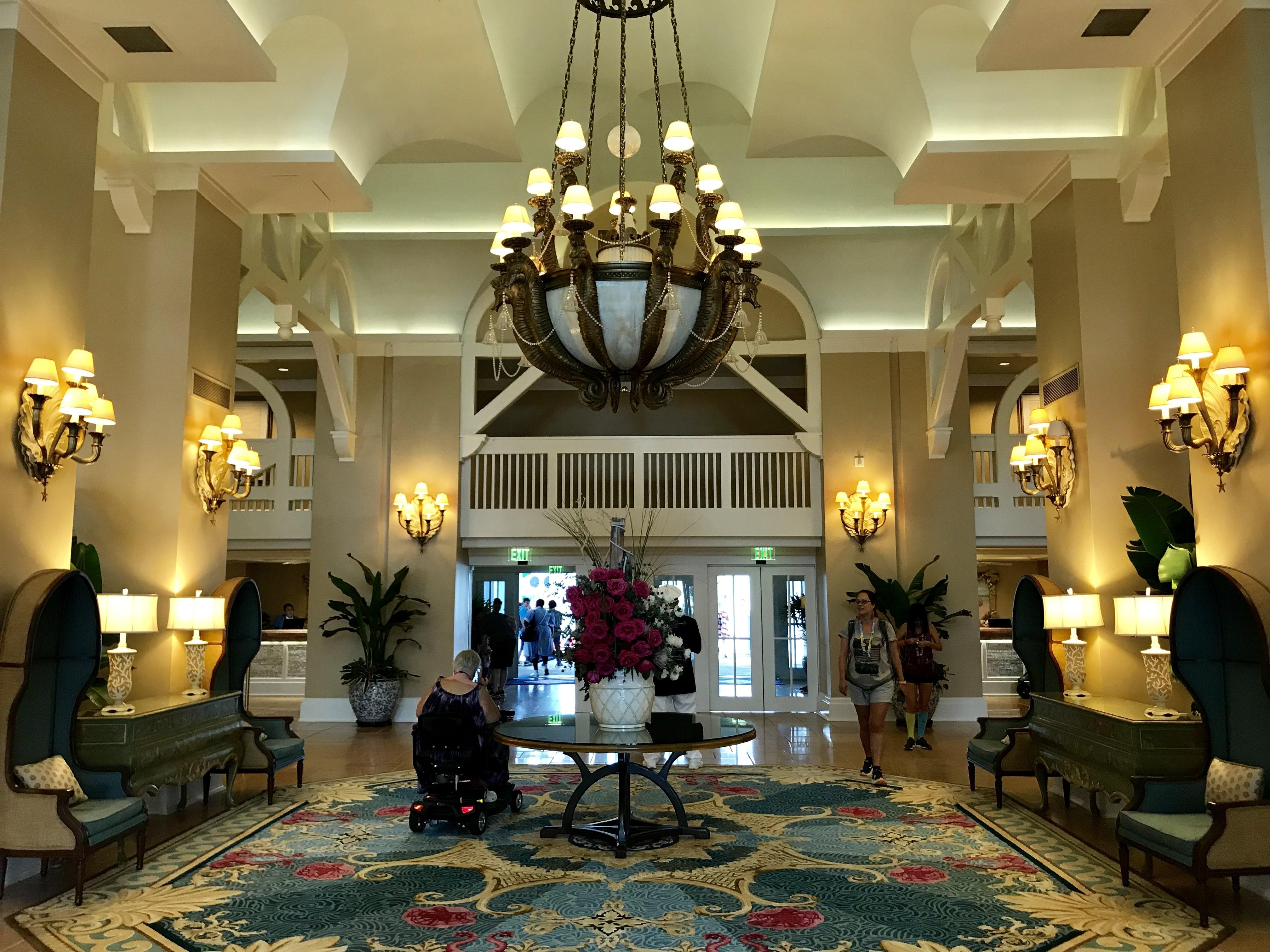 Disney's Beach Club Lobby Entrance #disneyworld #disneybeachclub #disneyhotel #disneyresort