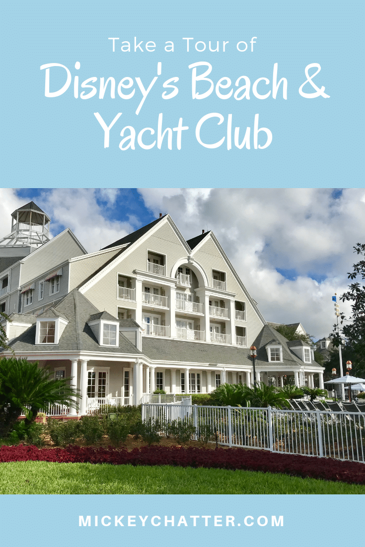 Take a look at my tour of Disney's Beach & Yacht Club and find out why it is one of my favourite on-site resorts! #disneyworld #disneytravelagent #disneyhotel #disneyresort #disneyplanning #disneytrip #disneyvacation