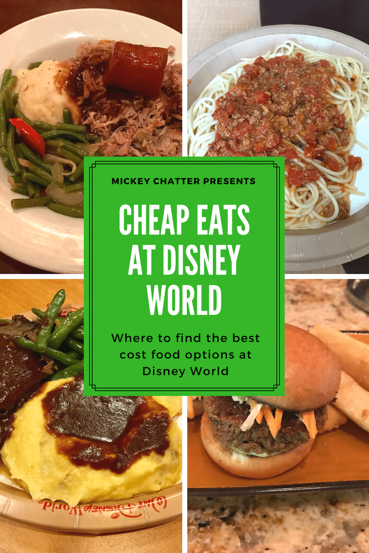 How to find cheap eats at Disney World! #disneyworld #disneyfood #disneydining #disneyonabudget