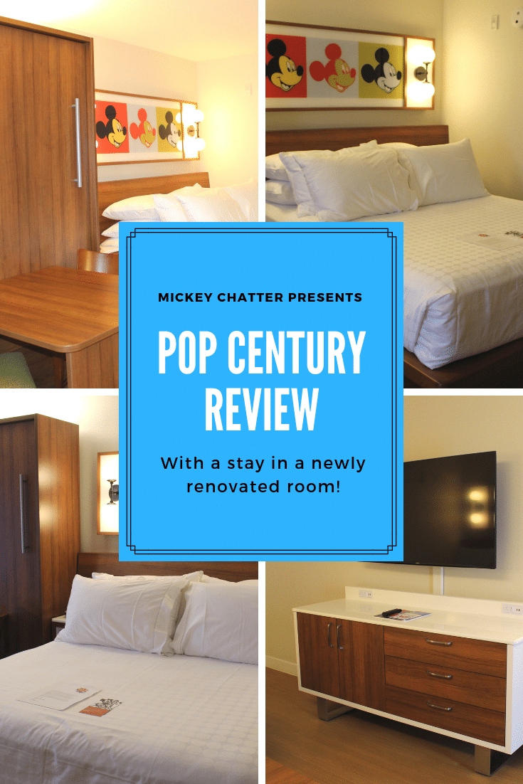 Pop Century Resort review with a stay in a newly renovated room #disneyworld #disneytravelagent #disneyhotel #disneyresort #disneytrip #disneyvacation