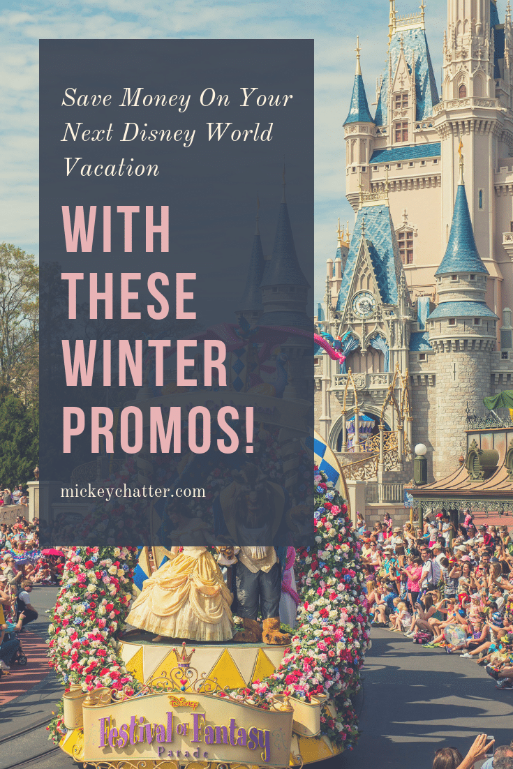 The Disney 2019 winter discounts have been released! Check out how you can save on your winter Disney World vacation. #disneyworld #disneytravelagent #disneydeals #disneytrip #disneyplanning #disneyvacation #disney2019