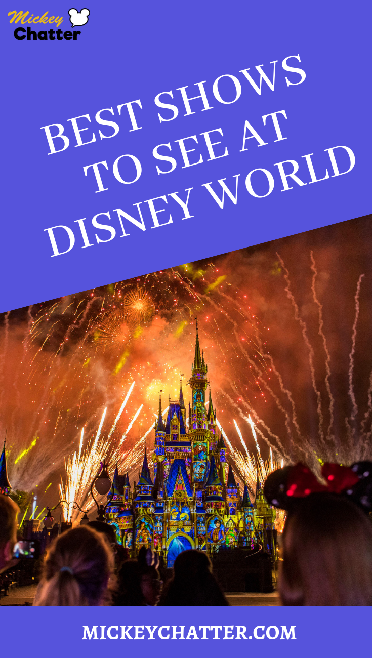 Find out what the best shows to see at Disney World are. Don't miss out on all this great entertainment on your next vacation! #disneyworld #disneytrip #disneyvacation #disneyshows #disneyentertainment