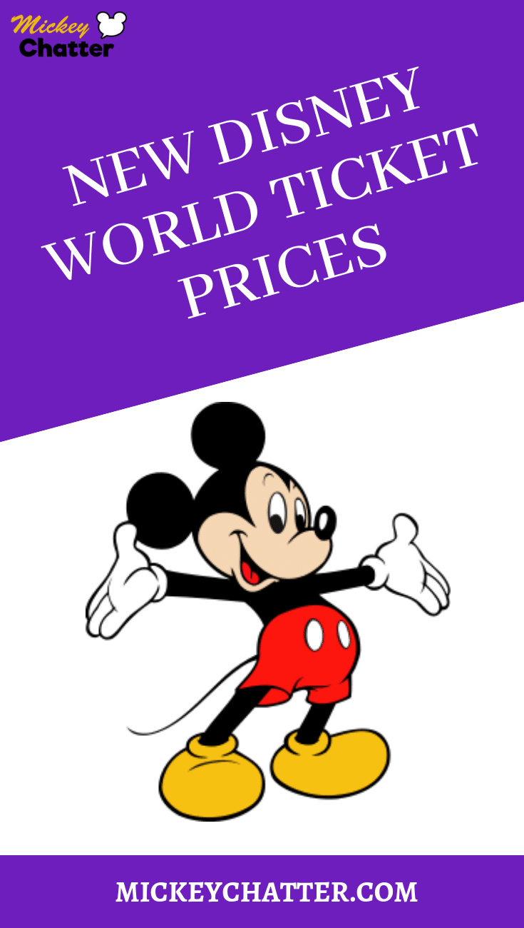 Learn all there is to know about the new Disney World ticket pricing structure #disneyworld #disneytickets #disneyplanning #disneytrip #disneyvacation