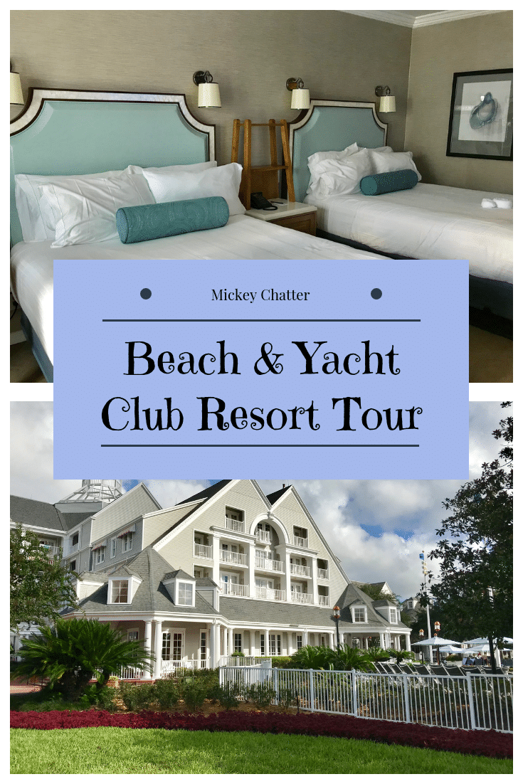 A review and resort tour of Disney's Deluxe Beach & Yacht Club. #disneyworld #disneyresort #disneybeachclub #disneyyachtclub #disneytrip #disneyvacation