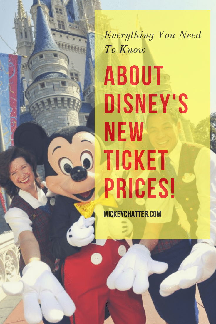 Disney World's new ticket pricing structure, make sure you know how it works to price out when is the best time to go! #disneyworld #disneytickets #disneytrip #disneyvacation #disneyplanning