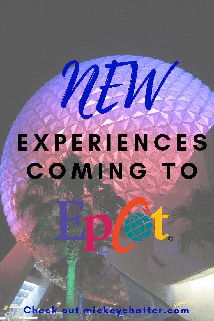 Be in the know about all the new attractions coming to Epcot at Disney World in Orlando! #disneyworld #epcot #disneyattractions #disneyrides #disneyshows #disneytrip #disneyvacation