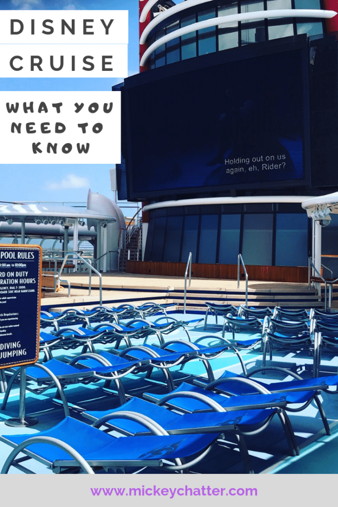 Disney Cruise - everything you need to know about what it is like to sail with Disney #disneycruise #disneycruiseline #disneywonder