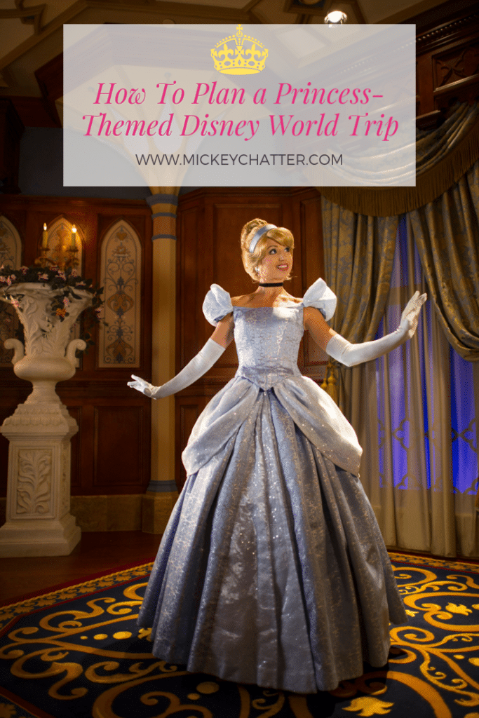 How to plan a princess-themed Disney World trip, where you can find ALL the princesses! #disneyworld #disneyprincess #disneytravelagent #disneytravelplanner #disneytrip #disneyvacation