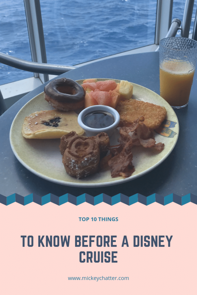 The top 10 things to know before a Disney cruise. Be prepared BEFORE you sail! #disneycruise #disneyvacation #disneytrip #disneycruiseline
