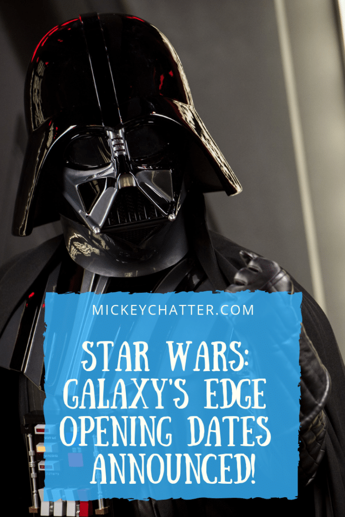 Disney has announced the opening dates for Star Wars Land: Galaxy's Edge!!! #disneyworld #starwars #starwarsland #disneynews #hollywoodstudios #disneytravelagent #disneytravelplanner
