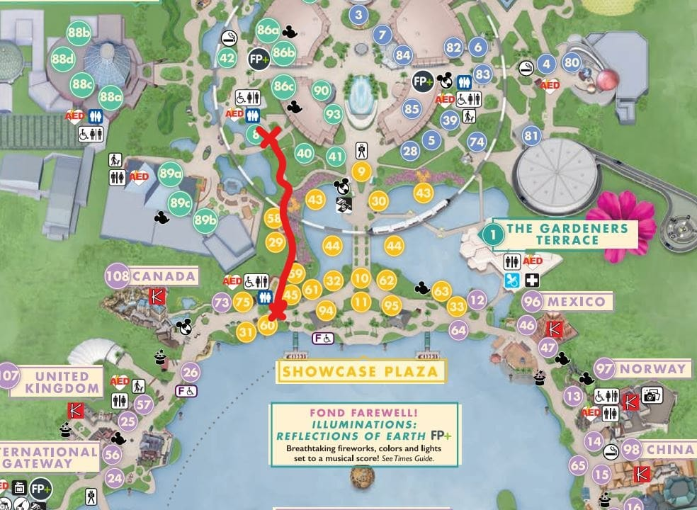 Secret Shortcuts at the Disney World Parks - Mickey Chatter