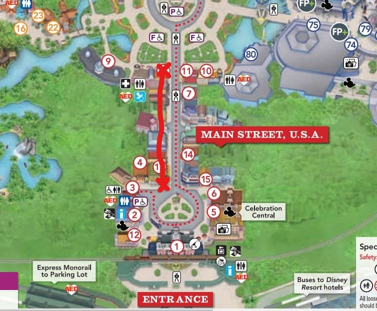 Main Street USA Shops Shortcut