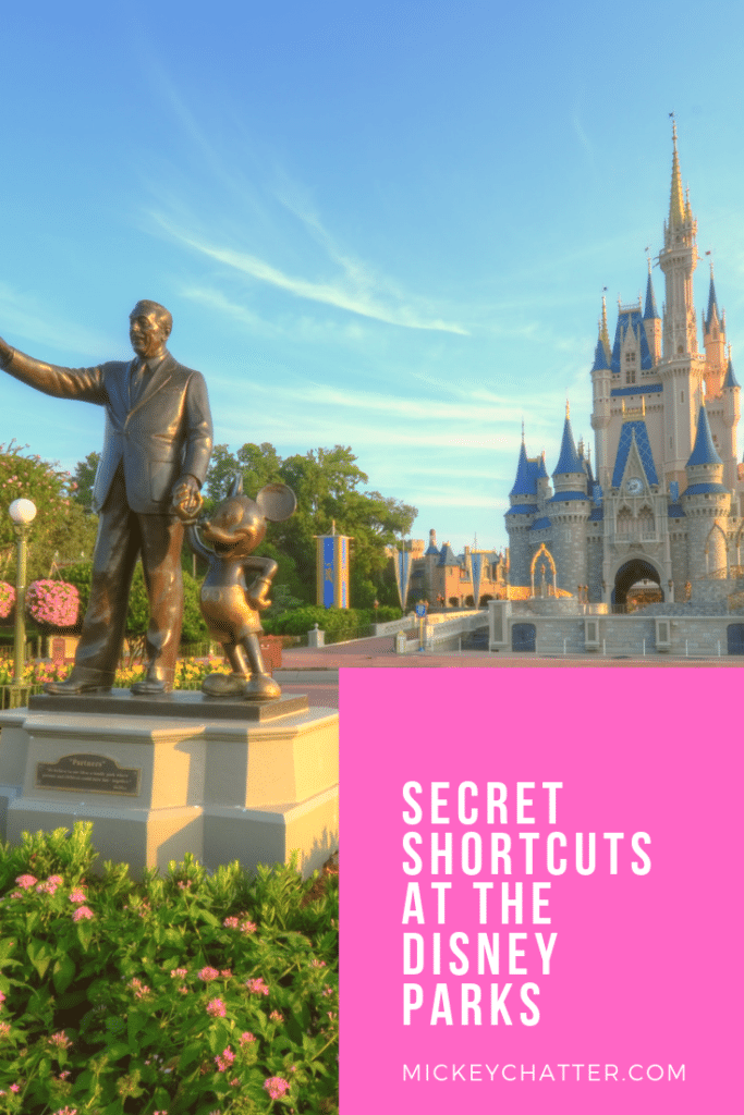 Secret paths you SHOULD know about at the Disney World parks to make getting around easier #disneyworld #disneyparks #disneytips #disneytravelagent #disneytravelplanner #disneyvacation #disneytrip