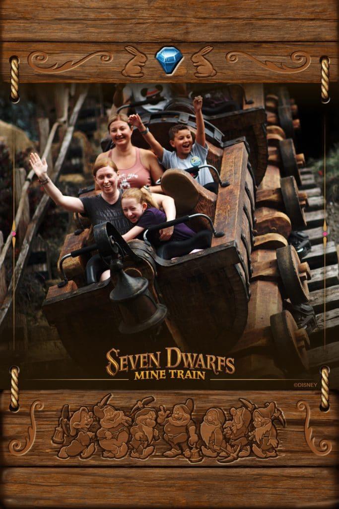 Memory Maker photo of Seven Dwarfs Mine Train #disneyworld #disneytravelagent #disneytravelplanner #memorymaker #disneypics #disneyrides #disneyphotos