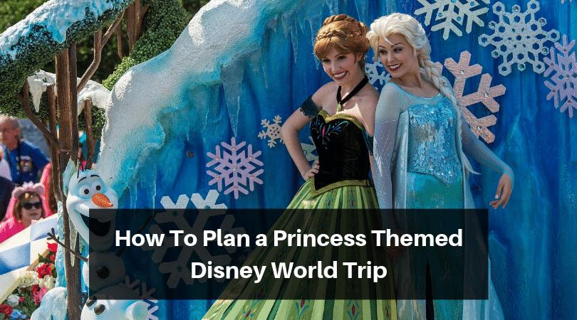 How to plan a princess themed trip to Disney World #disneyworld #disneytravelagent #disneytravelplanner #disneyprincesses #disneytrip #disneyvacation