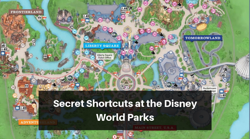 Learn about all the secret shortcut paths at the Disney World parks #disneyworld #disneytrip #disneyvacation #disneyparks #disneytravelplanner #disneytravelagent