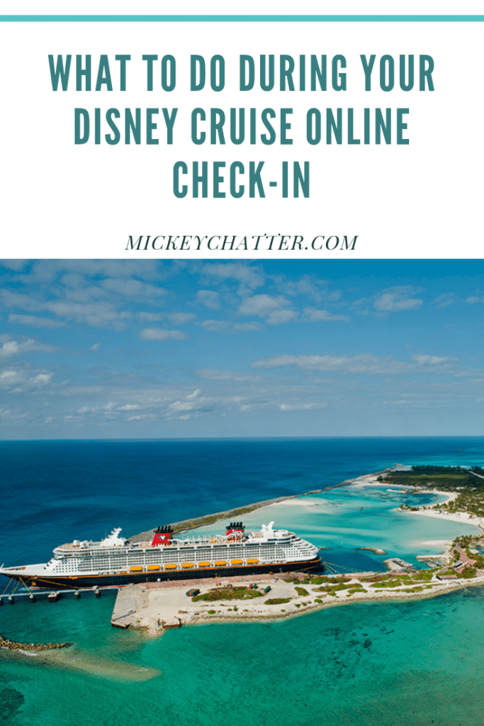 Important things to do during your disney cruise online check-in. Make sure you are prepared to book all the activities you want or you could miss out! #disneycruise #disneycruiseline #disneytravelagent #disneytravelplanner