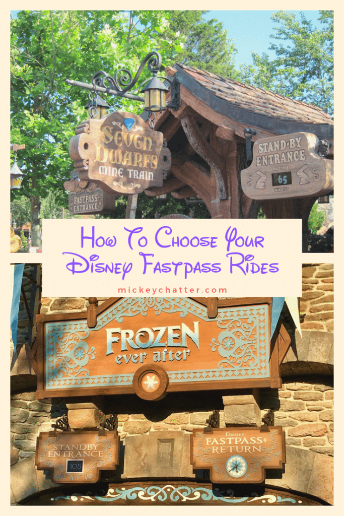 How to Choose your Disney Fastpasses from Tier 1 and Tier 2 level rides #disneyworld #disneytravelagent #disneytravelplanner #disneyrides #disneyplanning #fastpass #disneytrip #disneyvacation
