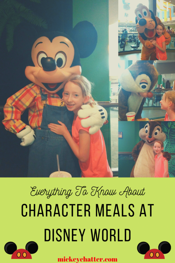 Everything you need to know about character meals at Disney World! #disneyworld #disneymeals #disneycharacters #disneytrip #disneyvacation #travelagent