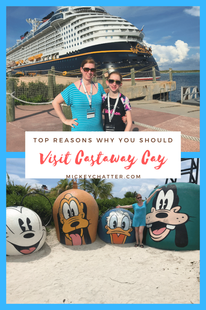 Top reasons why you must visit Castaway Cay on a Disney Cruise #castawaycay #disneycruise #cruising #travelagent #disney #bahamas