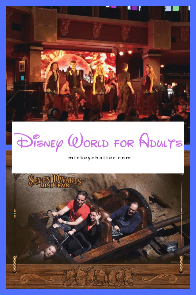 A guide to Disney World for adults and everything you can do! #disneyworld #disneyforadults #travelagent #disneyvacation #disneytrip