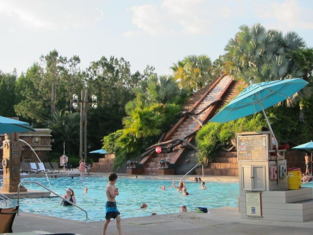 Disney's Coronado Springs Dig Site Pool #disneyworld #disneyresort #coronadospringsresort #travelagent