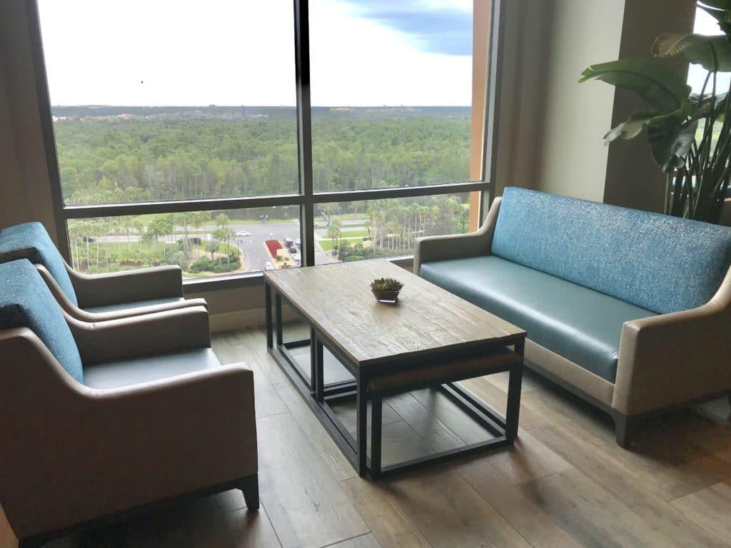 Chronos Lounge at Disney's Coronado Springs Gran Destino #disneyworld #disneyresort #coronadospringsresort #grandestino #chronoslounge #travelagent