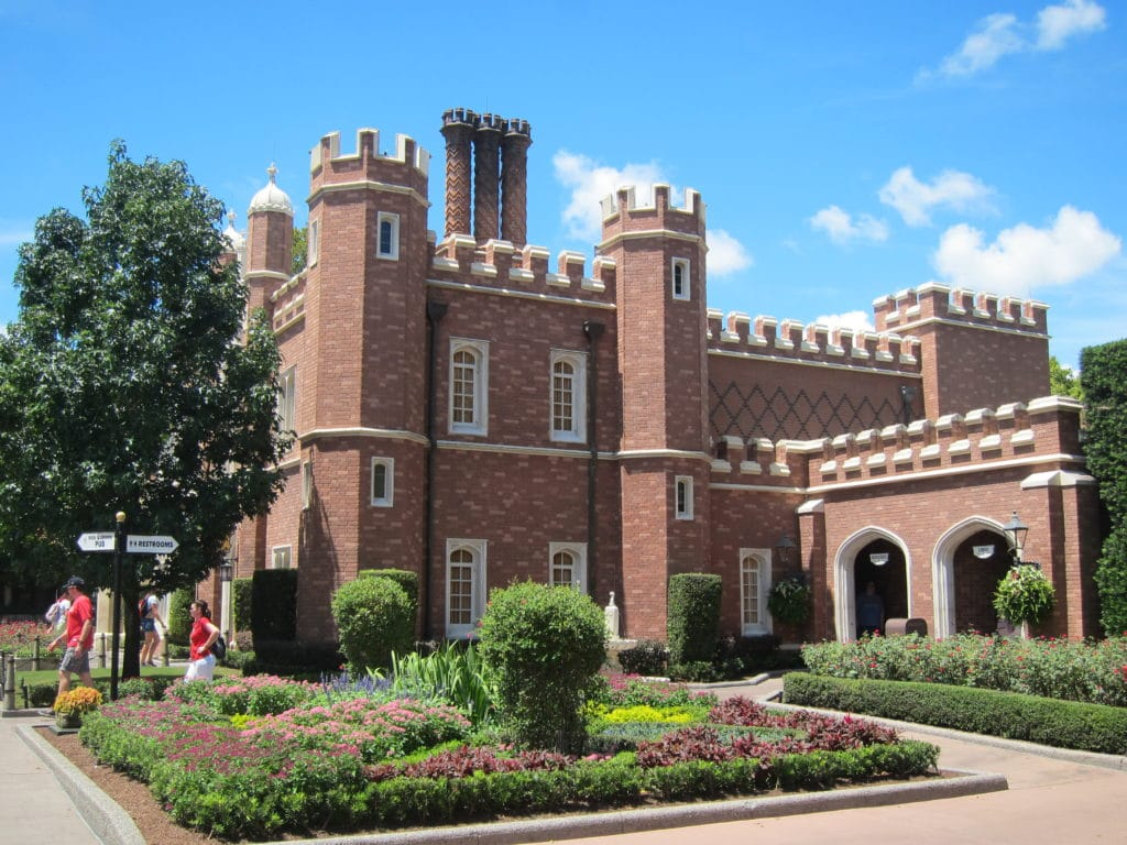 United Kingdom pavilion at Epcot #disneyworld #epcot #worldshowcase #ukpavilion