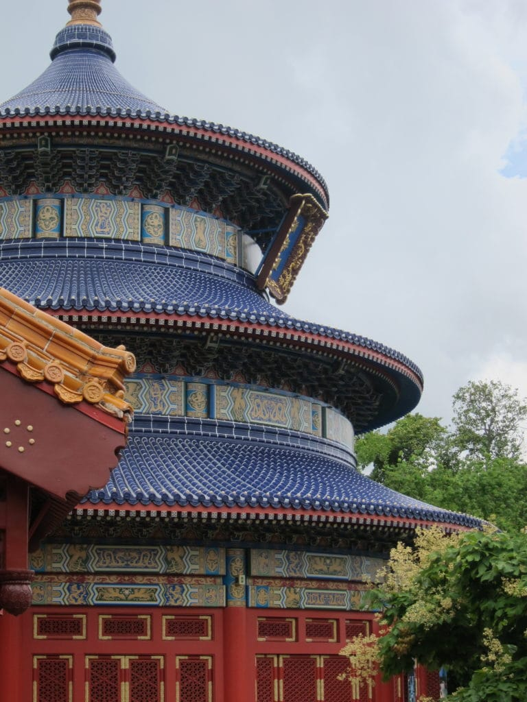 China pavilion at Epcot #disneyworld #epcot #worldshowcase