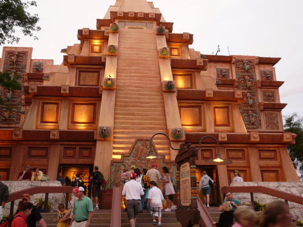 Mexican Pavilion at Disney's Epcot #disneyworld #epcot