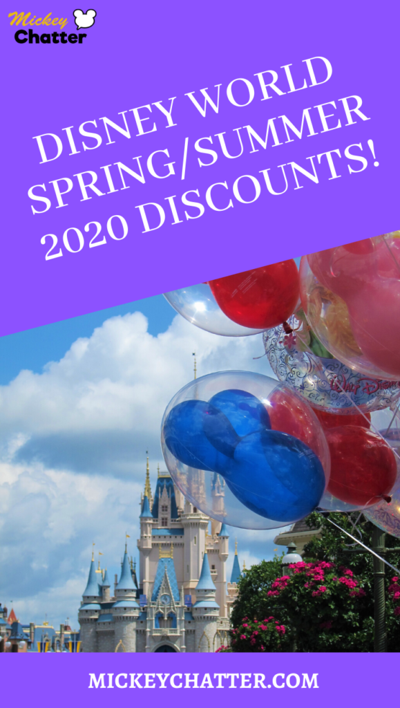 Disney World Summer 2020 Discounts! And kid's FREE dining promo too for the summer months! #disneyworld #travelagent #disneytrip #disneyvacation #disneyplanning