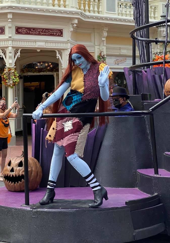 Halloween themed character cavalcades at Magic Kingdom #disneyworld #bootoyou #disneytrip #disneyvacation #halloween #magickingdom #travelagent
