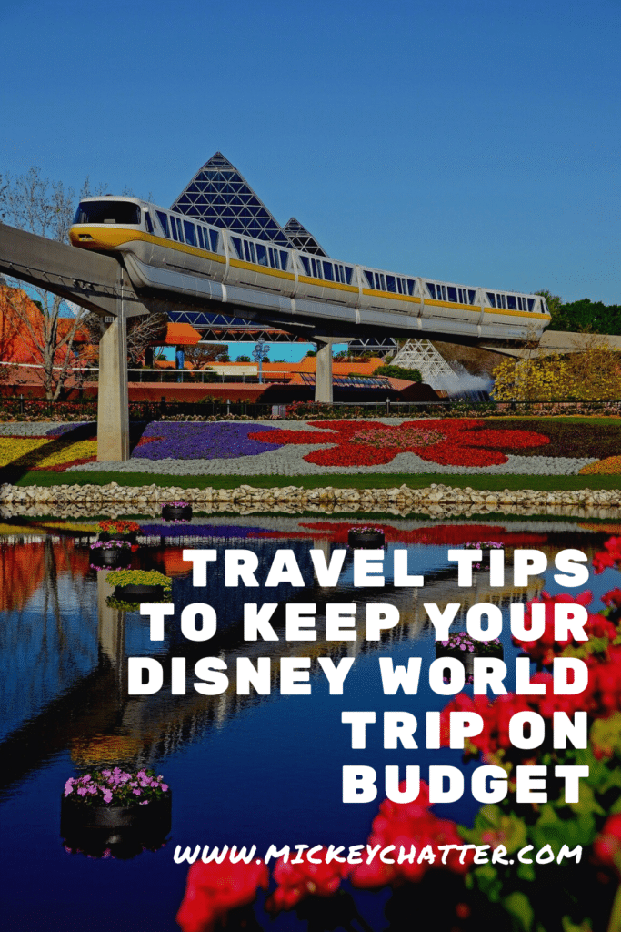 The top 5 travel tips to planning a trip to Disney World on budget! #disneyworld #disneyplanning #disneytrip #disneyvacation #travelagent #disneytravelagent