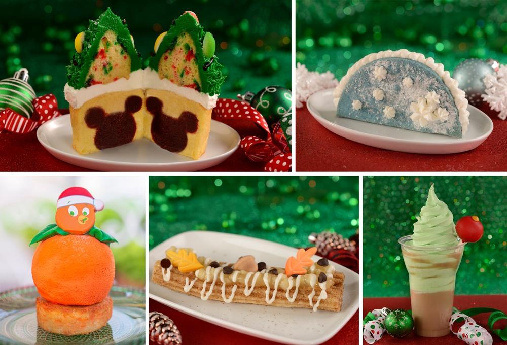 Holiday treats to celebrate Christmas 2020 at Walt Disney World #waltdisneyworld #disneyworld #disneytrip #disneyvacation #disneyplanning #disneychristmas #travelagent #disneytravelplanner