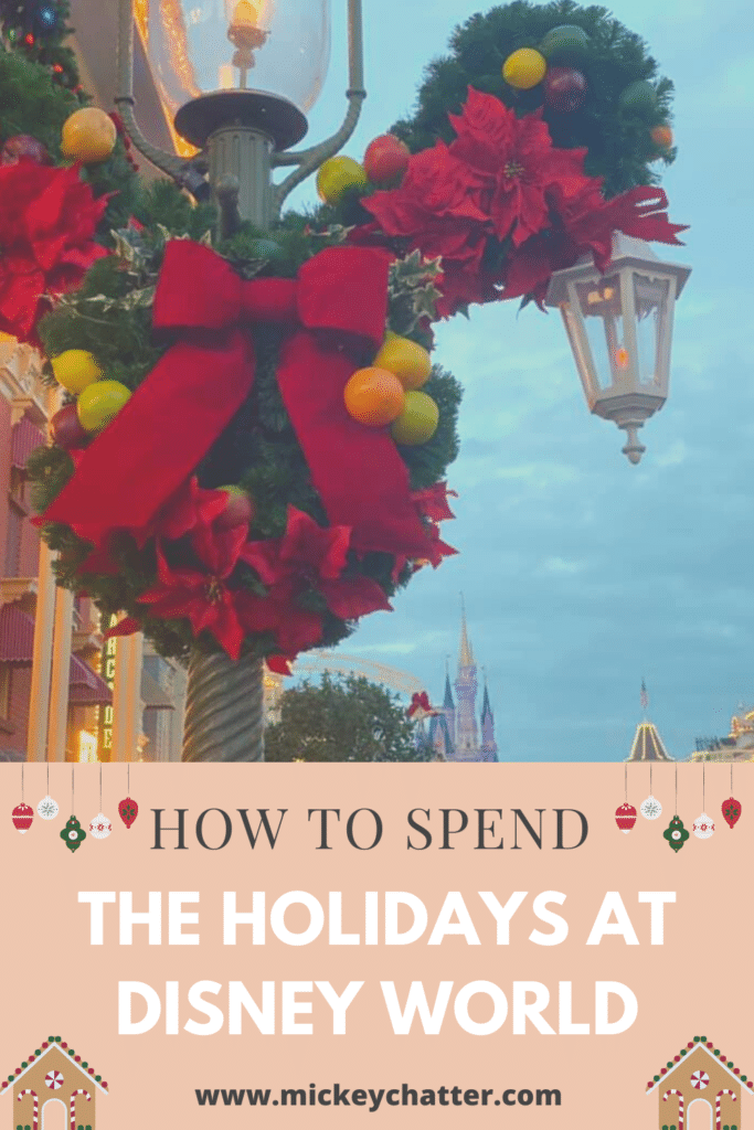 How to celebrate Christmas 2020 at Walt Disney World #waltdisneyworld #disneyworld #disney #disneychristmas #disneyplanning #travelagent #disneytravelplanner