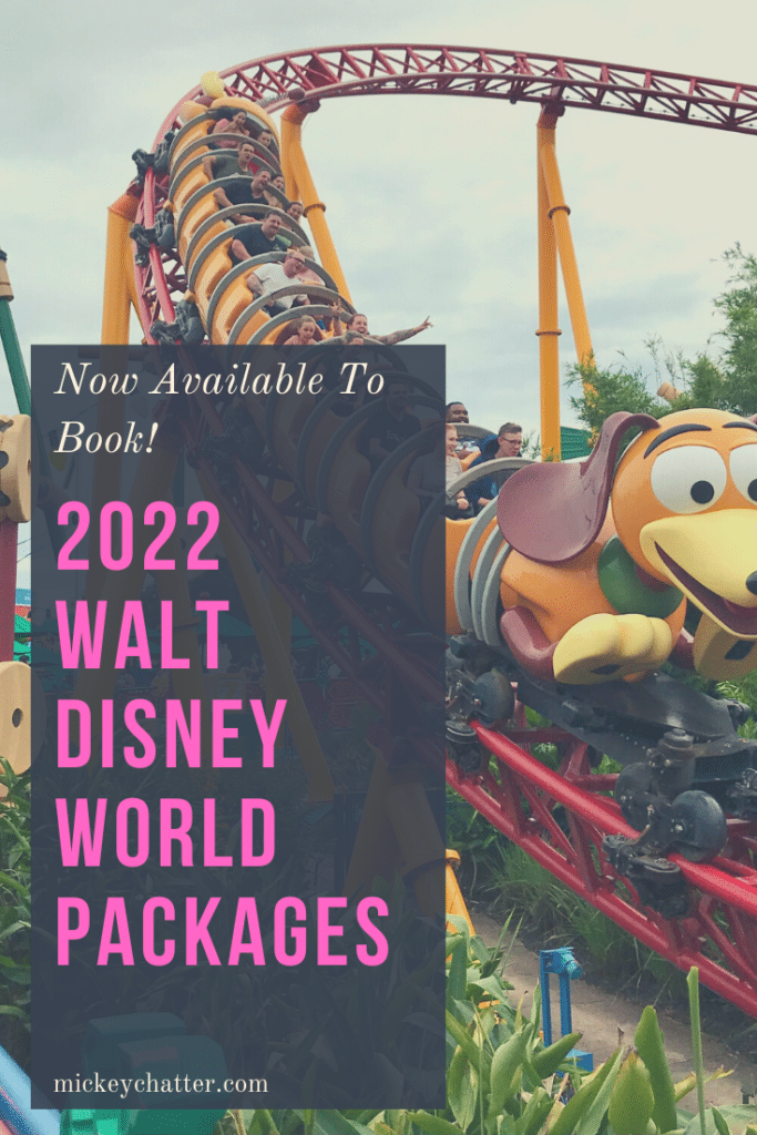 Walt Disney World 2022 packages are now open for booking! Don't miss out and book early to secure your resort. #waltdisneyworld #disneyworld #disney2022 #travelagent #disneyplanning