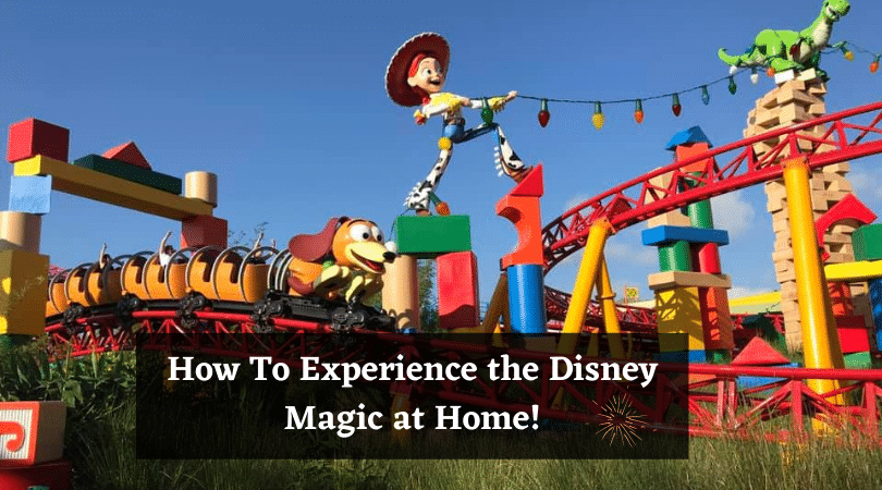 how to experience the disney magic at home #waltdisneyworld #disneyworld #disneymagic #travelagent #travelplanner