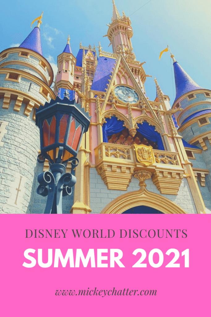Summer 2021 Disney World Special Offers #waltdisneywaorld #disneyworld #travelagent
